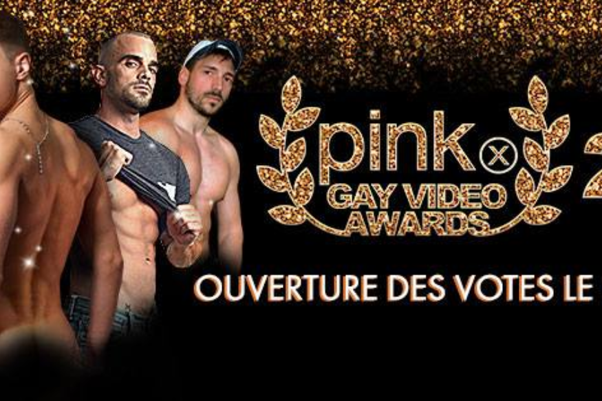 PinkX Gay Video Awards 2016 : Les votes sont ouverts !